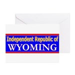 Wyoming-2 Greeting Cards (Pk of 20)