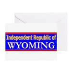 Wyoming-2 Greeting Card