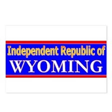 Wyoming-2 Postcards (Package of 8)