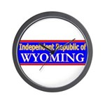 Wyoming-2 Wall Clock