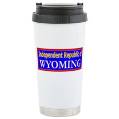 Wyoming-2 Travel Mug