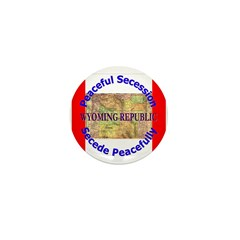 Wyoming-1 Mini Button (10 pack)