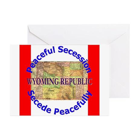 Wyoming-1 Greeting Cards (Pk of 20)