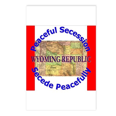 Wyoming-1 Postcards (Package of 8)