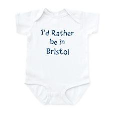 Rather be in Bristol Infant Bodysuit
