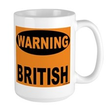 British Warning Mug