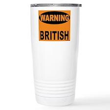 British Warning Travel Mug
