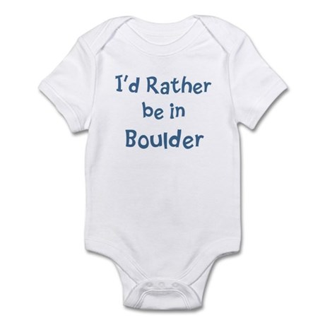 Rather be in Boulder Infant Bodysuit