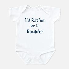 Rather be in Boulder Onesie