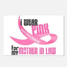 I Wear Pink For My Mother-In-Law 33 Postcards (Pac