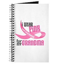 I Wear Pink For My Grandma 33 Journal