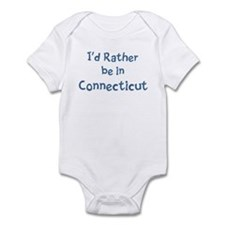 Rather be in Connecticut Infant Bodysuit