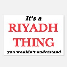 It's a Riyadh Saudi A Postcards (Package of 8)