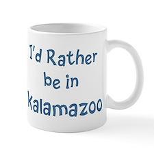 Rather be in Kalamazoo Small Mug