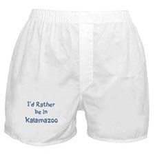 Rather be in Kalamazoo Boxer Shorts
