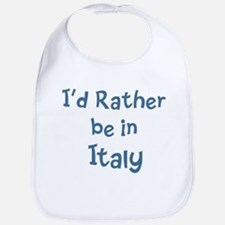 Rather be in Italy Bib