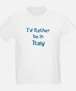 Rather be in Italy T-Shirt