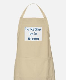 Rather be in Ghana BBQ Apron