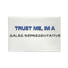 Trust Me I'm a Sales Support Executive Rectangle M