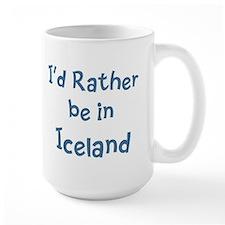Rather be in Iceland Mug