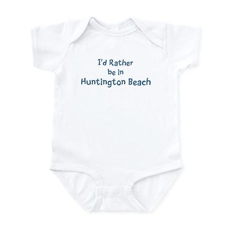 Rather be in Huntington Beach Infant Bodysuit