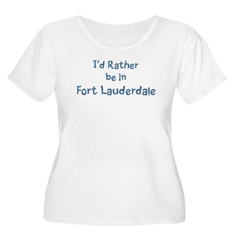 Rather be in Fort Lauderdale Women's Plus Size Sco