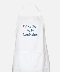 Rather be in Louisville BBQ Apron