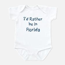 Rather be in Florida Infant Bodysuit