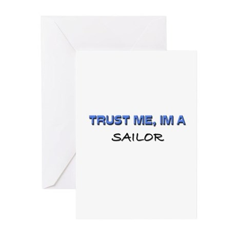 Trust Me I'm a Sailor Greeting Cards (Pk of 10)