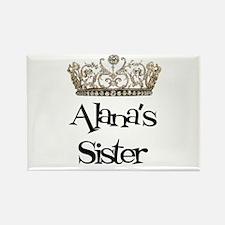 Alana's Sister Rectangle Magnet