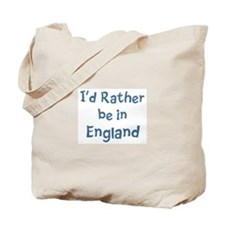 Rather be in England Tote Bag