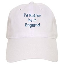 Rather be in England Baseball Cap