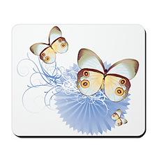 Blue Butterflies Mousepad