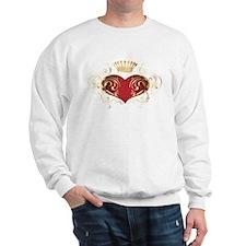 Royal Heart Sweatshirt