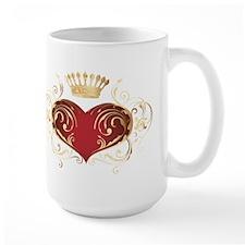 Royal Heart Mug