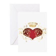Royal Heart Greeting Cards (Pk of 20)
