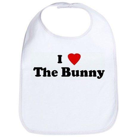 I Love The Bunny Bib