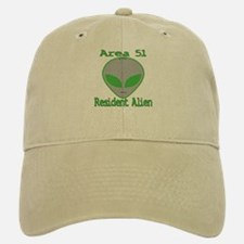 Area 51 Resident Alien Baseball Baseball Cap