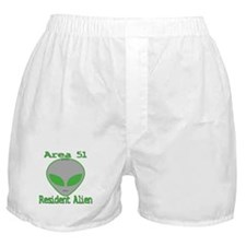Area 51 Resident Alien Boxer Shorts
