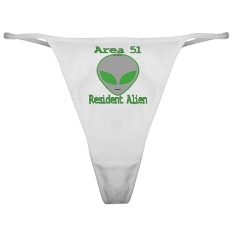 Area 51 Resident Alien Classic Thong