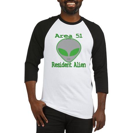 Area 51 Resident Alien Baseball Jersey