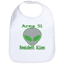Area 51 Resident Alien Bib