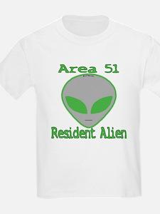 Area 51 Resident Alien T-Shirt
