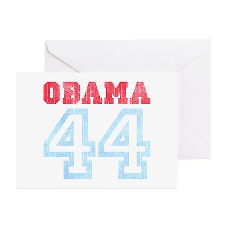 OBAMA 44 Greeting Cards (Pk of 10)