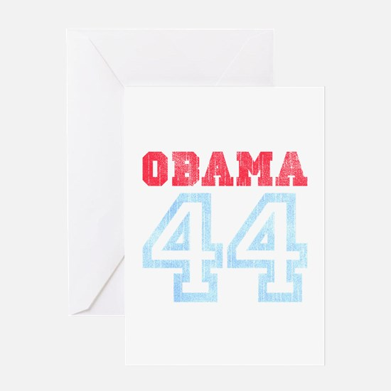 OBAMA 44 Greeting Card