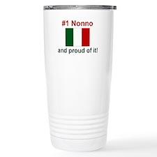 #1 Nonno (Grandfather) Travel Mug