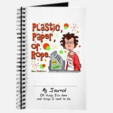 Plastic, Paper or Rope Journal