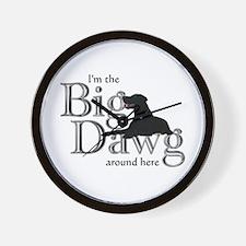 Big Dawg - Wall Clock