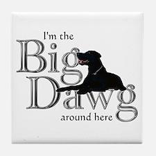 Big Dawg - Tile Coaster