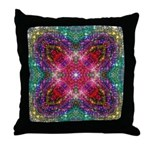Shimmering Jewel Throw Pillow
